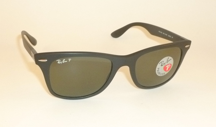 8f090ee228 New RAY BAN Sunglasses Wayfarer Liteforce Black RB 4195 601S 9A ...