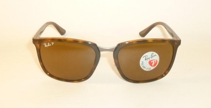 cf0e942c22 New RAY BAN Sunglasses Tortoise Frame RB 4303 710 83 Polarized Brown ...