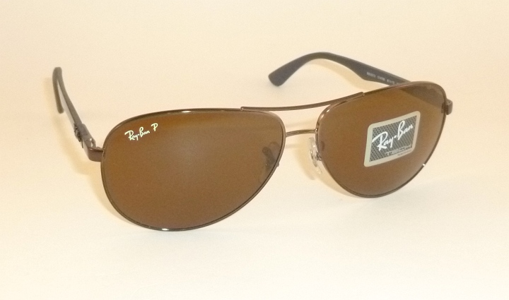 1f6175885c8 Ray Ban Rb8302 Tech Sunglasses Brown Frame Brown Polar