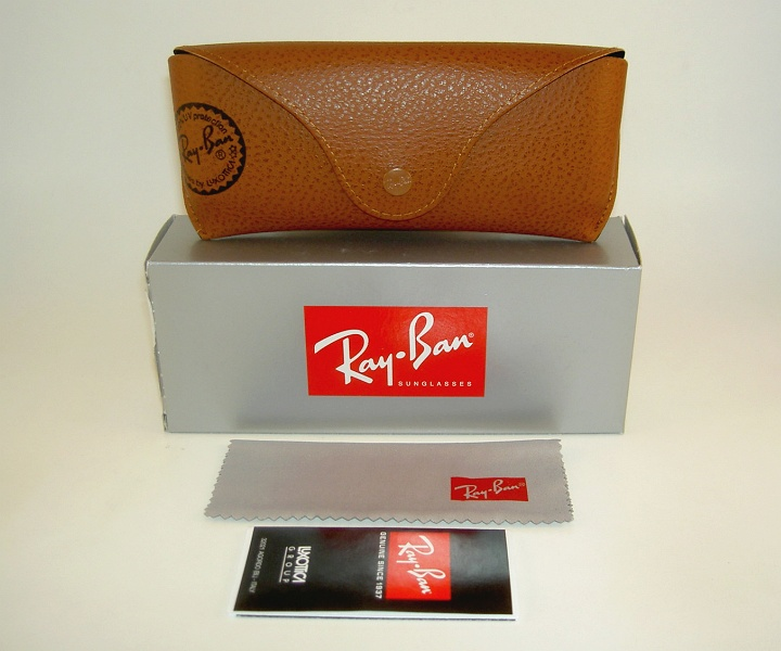 New Ray Ban Sunglasses AVIATOR OUTDOORSMAN  Black  RB 3030 L9500 G-15 Glass Lens 3