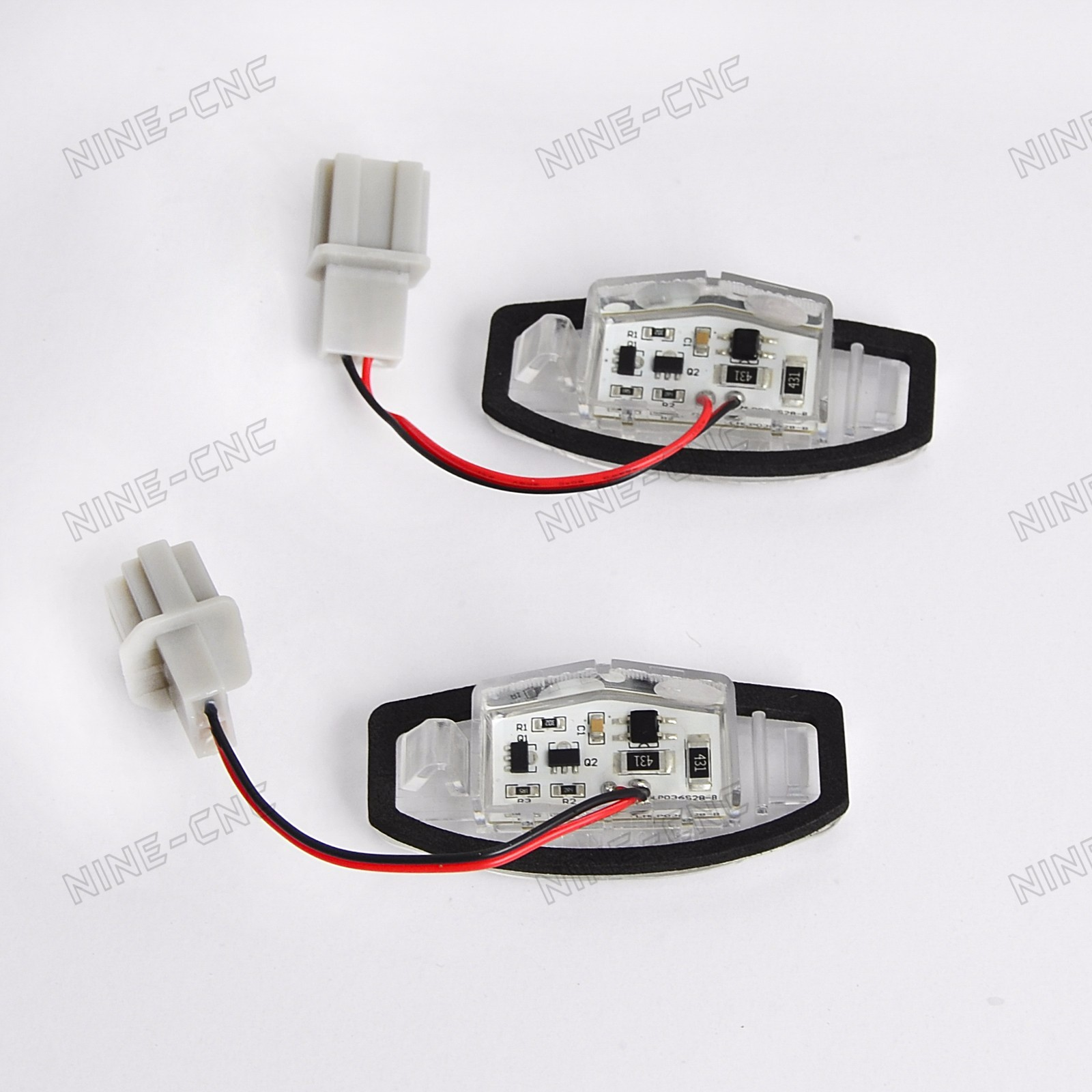 2x 18 Smd Led License Plate Light For Acura Tl Honda Pilot 2003 2008 Wiring Connectors 2007 2009