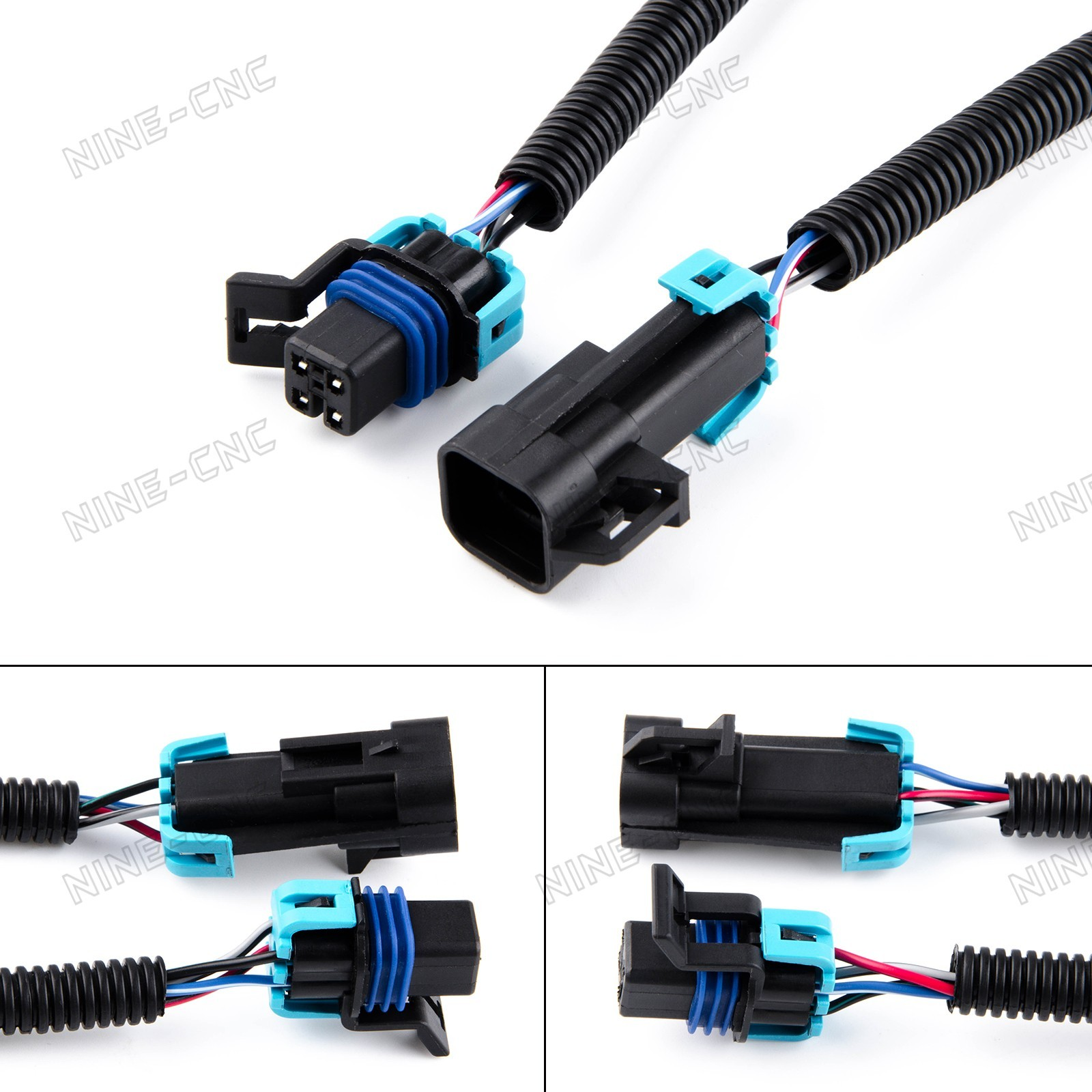 Details about 2pcs Oxygen Sensor Extension Wiring For Camaro Trans on