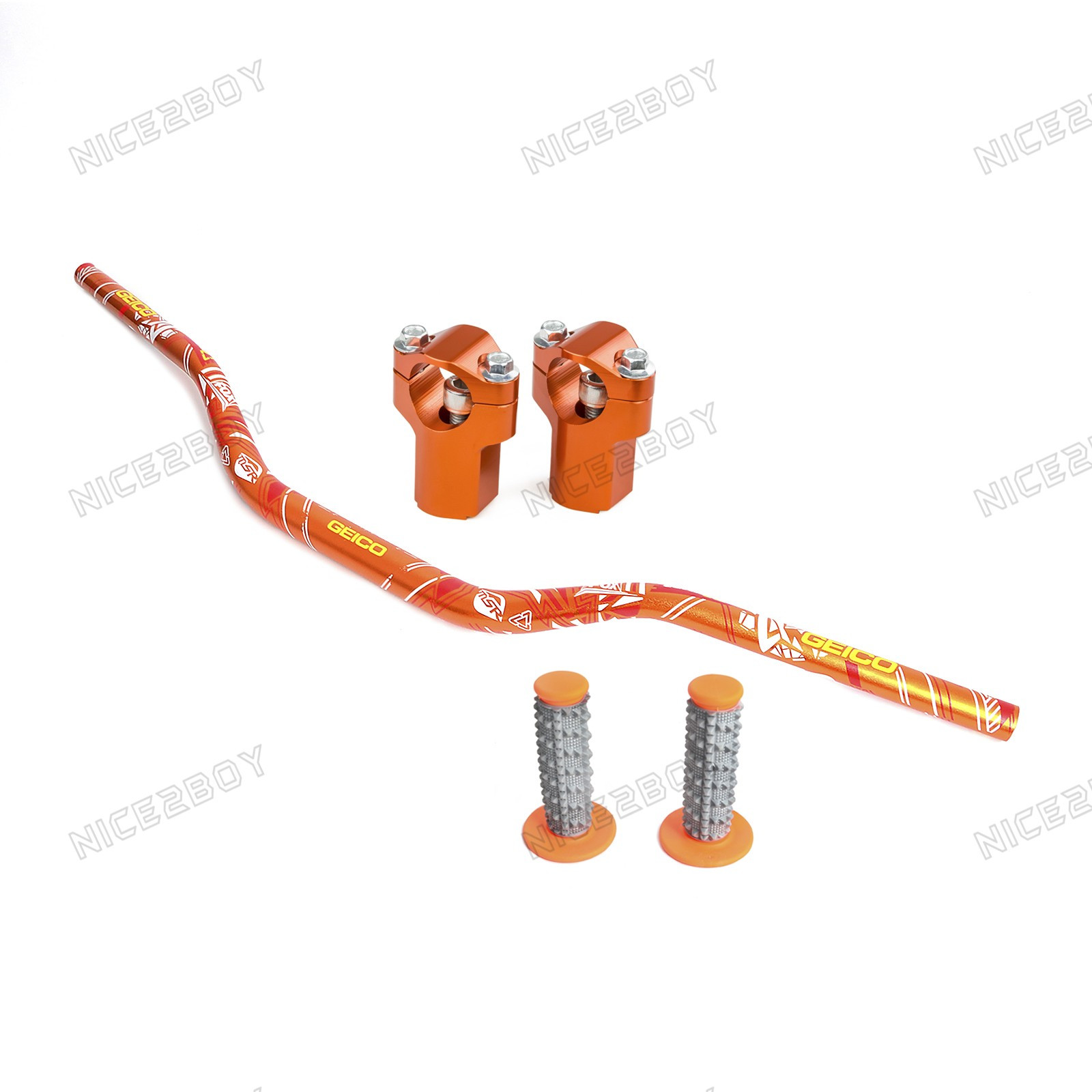 Handlebar Fat Bar Grip Riser For Ktm 125 250 450exc Exc Wiring Diagram Six Days 200 09 16