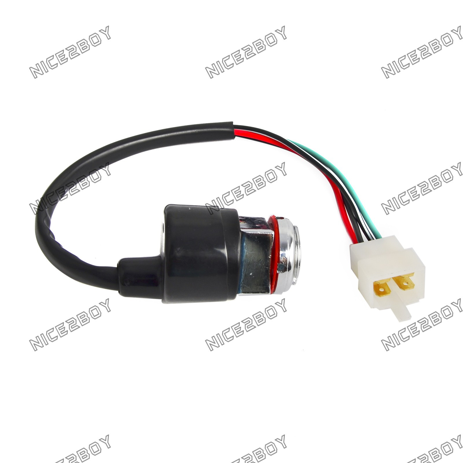 Universal Motorcycle 2 Wire Ignition Key Switch for Honda CB100 ...