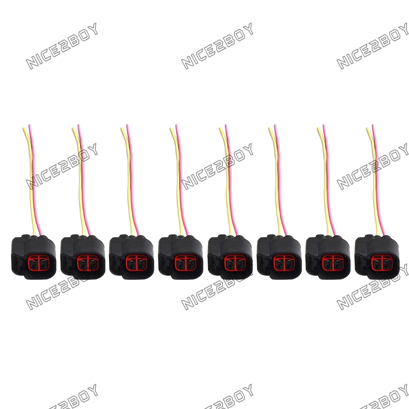 Details about Injector Wire Harness For ANY RC,Bosch EV6 EV14 Fuel  Injectors USCAR connector