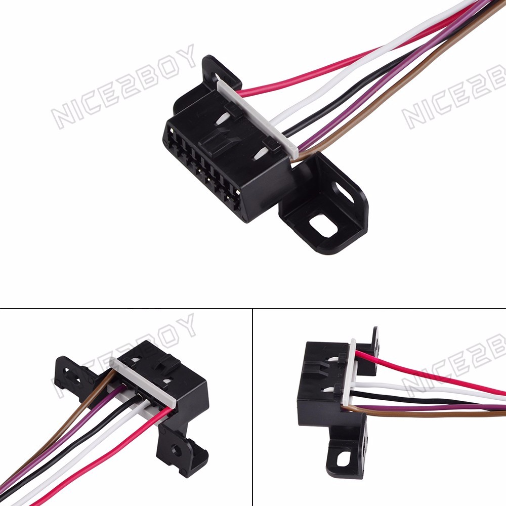 Details about LS1 LT1 OBDII OBD2 Wiring Harness Connector Pigtail For on
