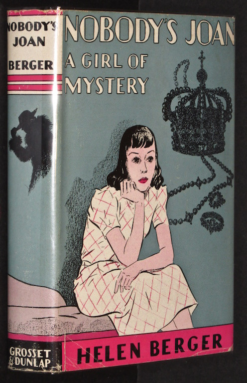 Image for Nobody's Joan: A Girl of Mystery