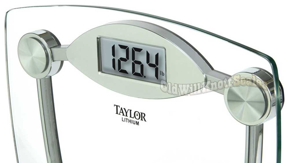 Taylor 7506   Close View Of The Weight Display