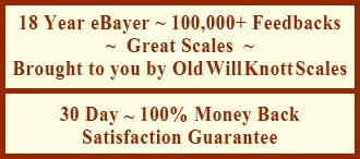 ''Great Scales'' is a long time Ebayer with over 100,000 feedbacks. 30 Day 100% Money Back Satisfaction Guarantee
