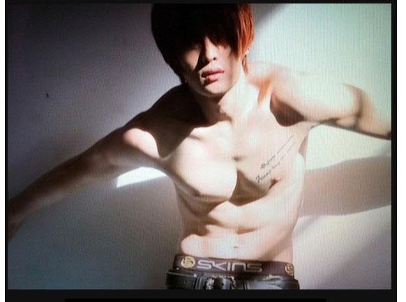 jaejoong tattoo butterfly - photo #6