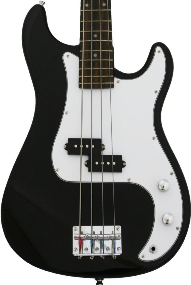new crescent black chrome electric bass guitar strap amp cord gigbag 818107012518 ebay. Black Bedroom Furniture Sets. Home Design Ideas
