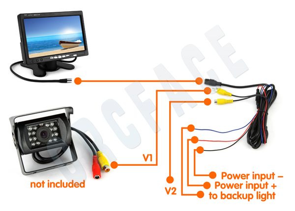 wireless pillow tft lcd color monitor wiring diagram pillow tft lcd color monitor wiring diagram