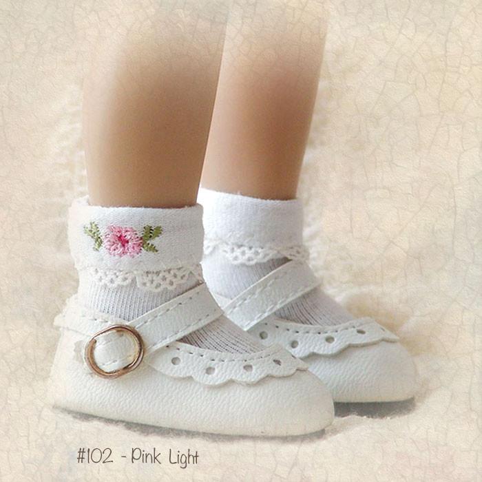 """2 pair White Ankle Socks for 13/"""" Effner Little Darling Doll"""