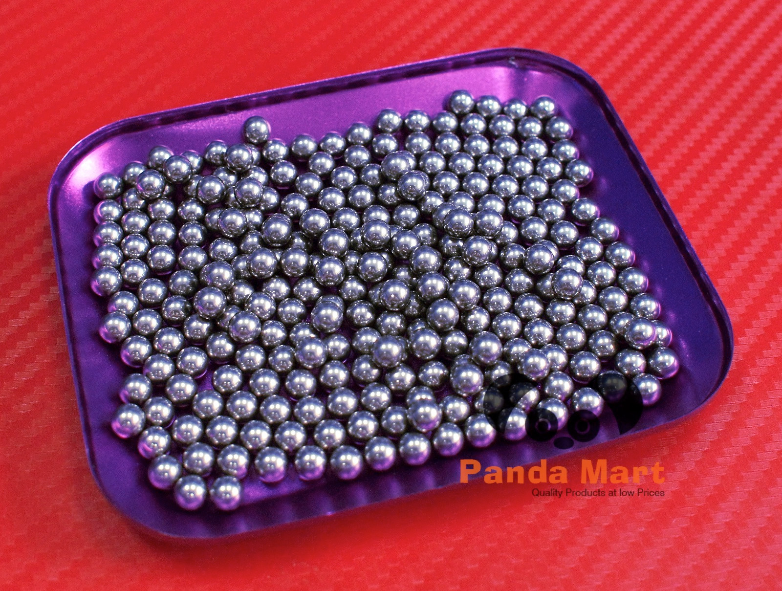 G10 Hardened Chrome Steel Loose Bearings Ball Bearing Balls 6.5mm 250 PCS