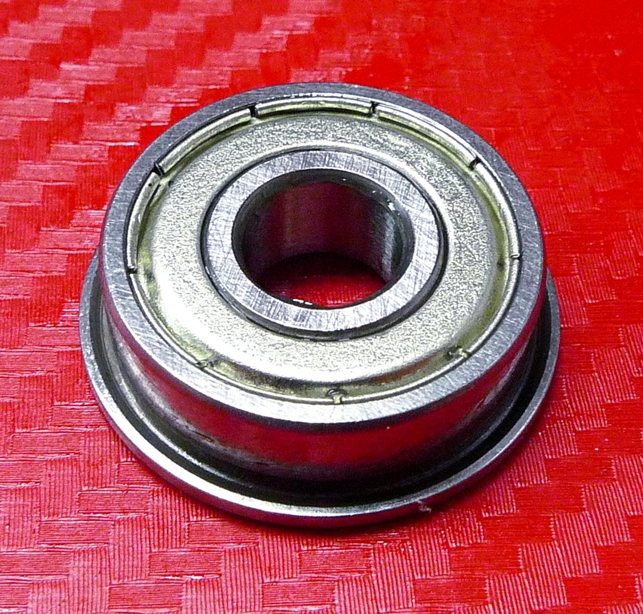 10pcs F6700zz Metric Metal FLANGE Ball Bearing 10*15*4 F6700z 10x15x4mm