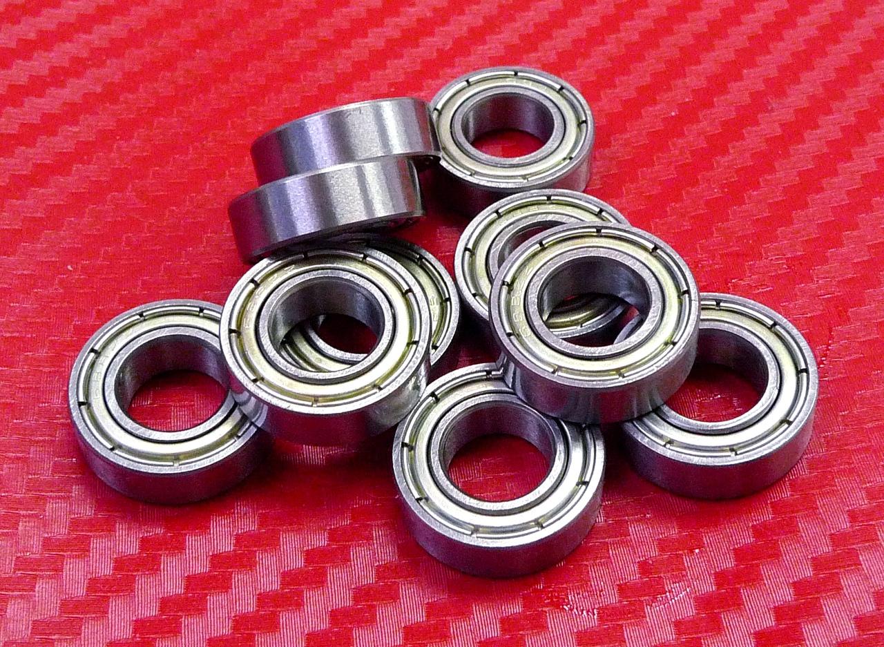608zz Width 10mm 4 PCS Metal Shielded Ball Bearings 8*22*10 608z 8x22x10 mm