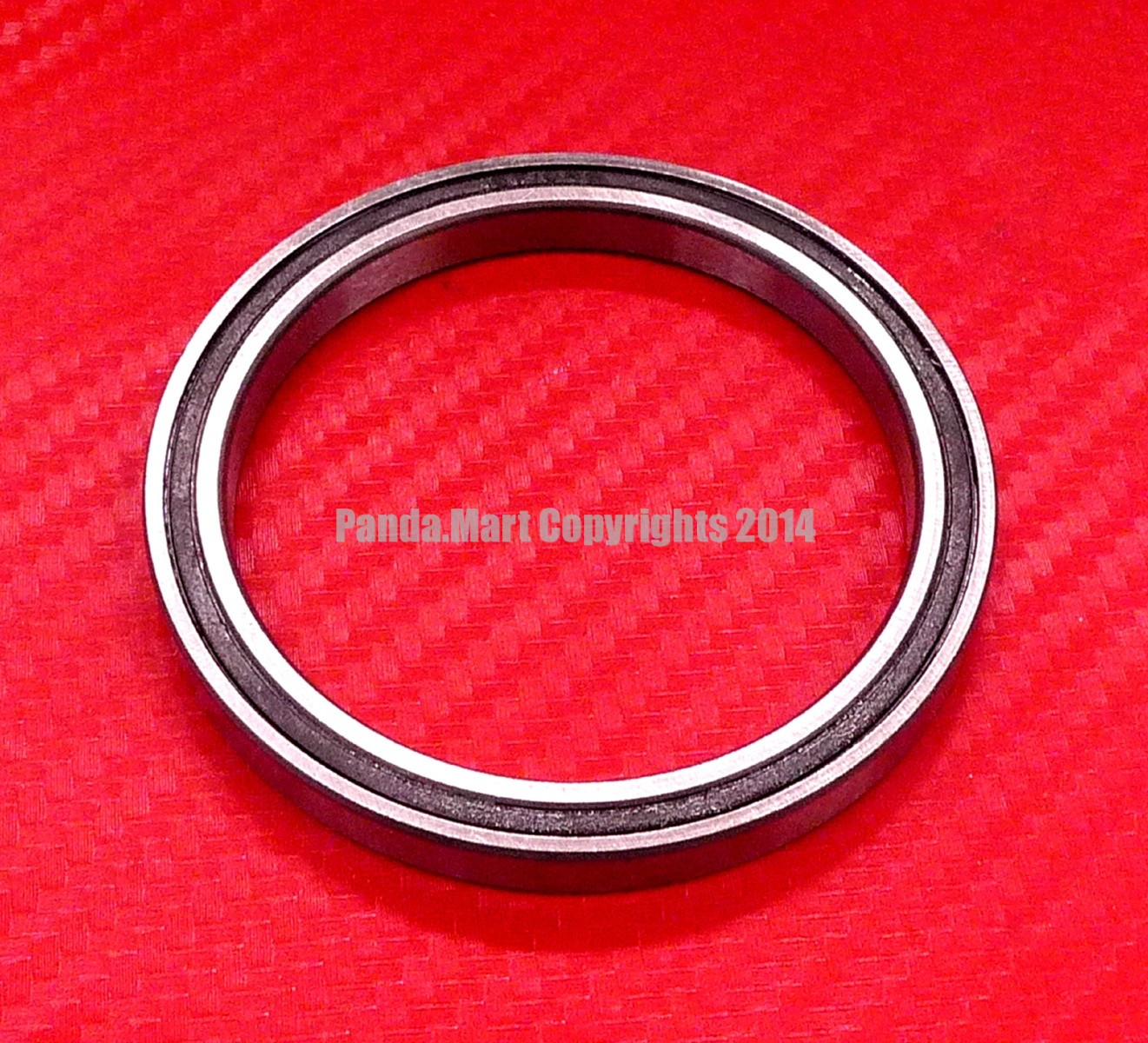 5pcs 6908-2RS 40x62x12 mm Black Rubber Sealed Ball Bearing Bearings 6908RS