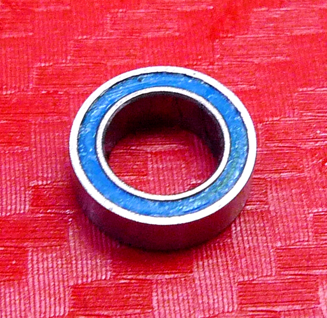 ABEC-3 Rubber Sealed Ball Bearing BLUE MR105RS 5 PCS 5x10x3 mm MR105-2RS//W3