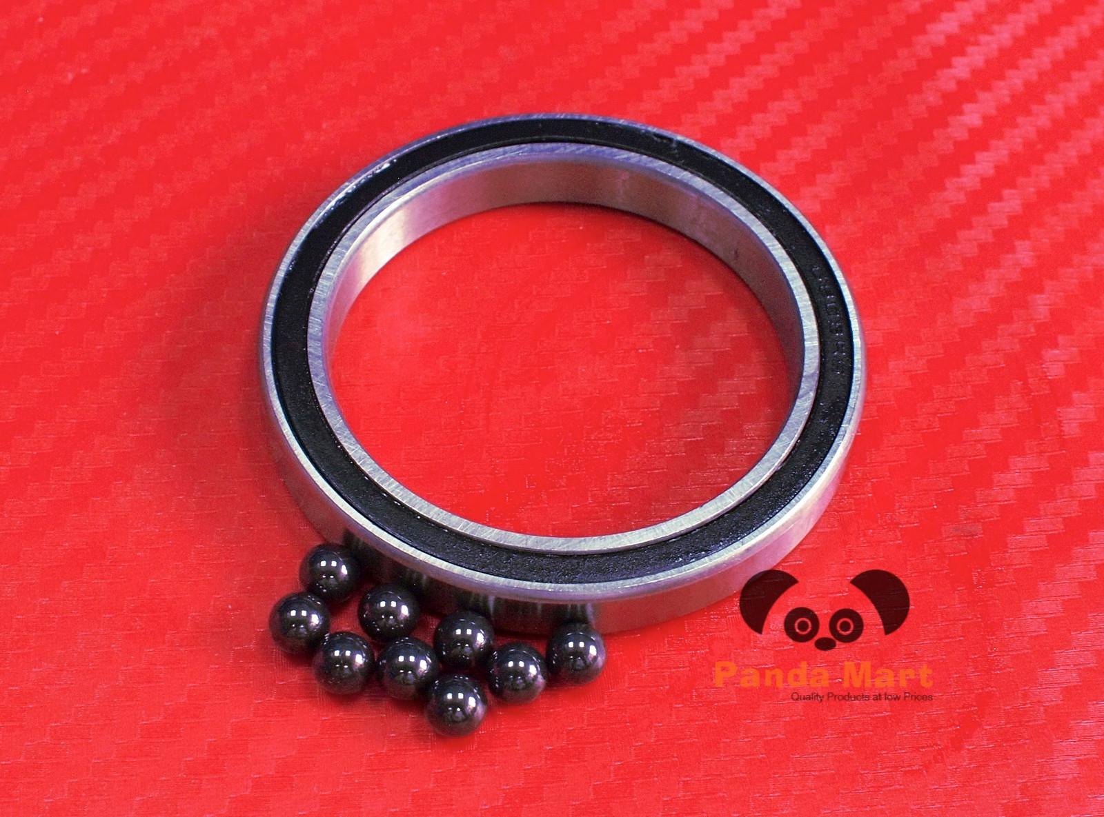 6908RS 6908-2RS HYBRID CERAMIC Si3N4 Ball Bearing Black 40x62x12 mm QTY 5