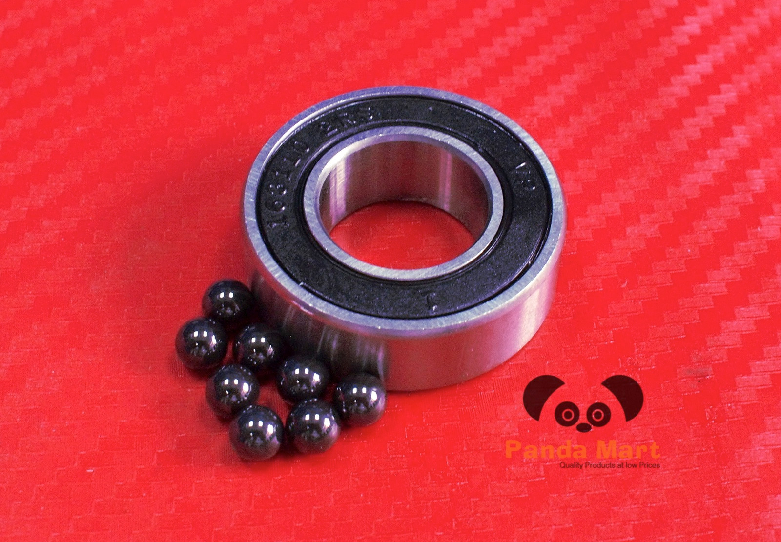 9*17*5 Full Ceramic Zirconia Oxide Ball Bearing 9x17x5 mm 2 PCS ZrO2 689