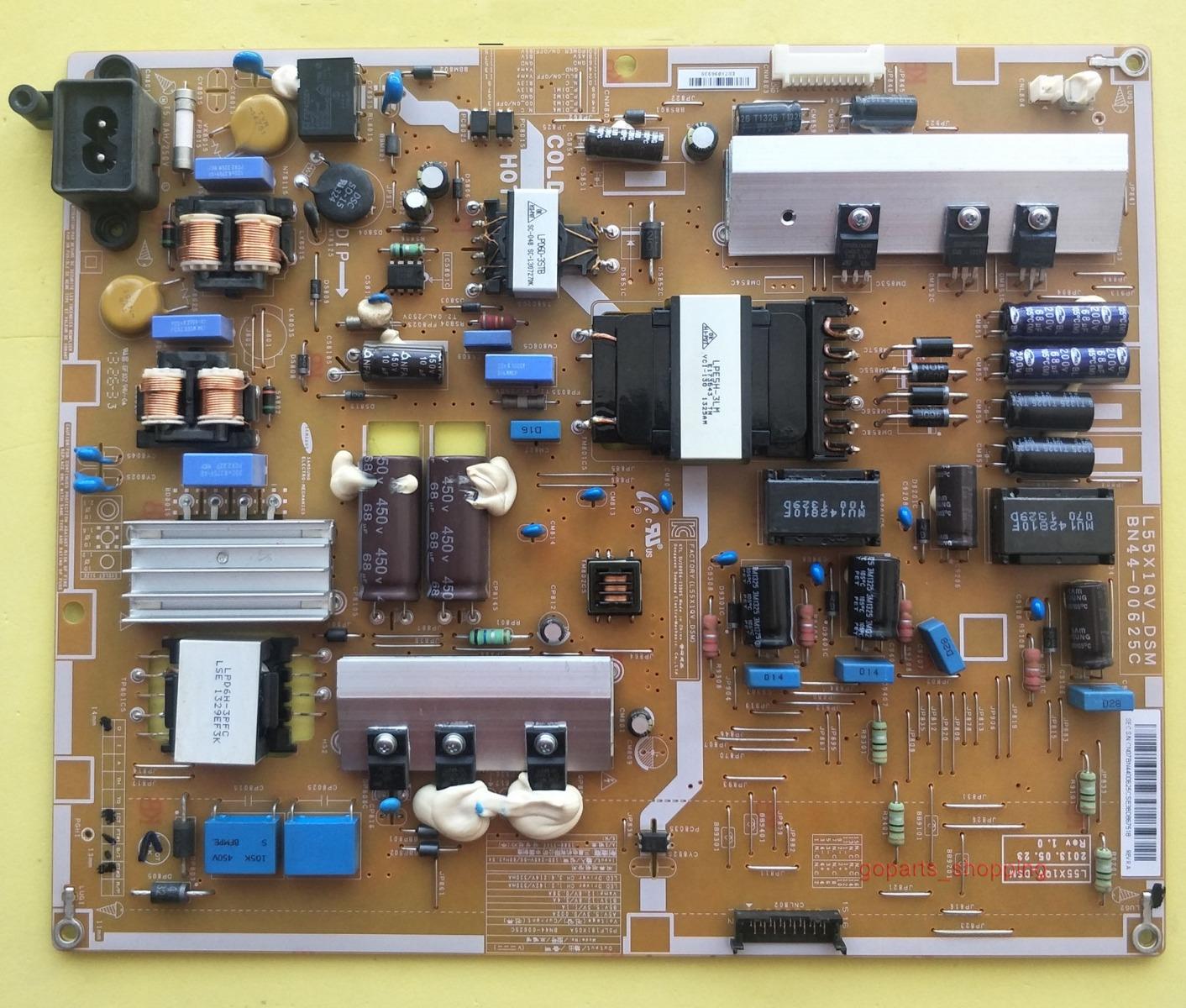 Original Samsung Power Supply Board BN44-00625C L55X1QV-DSM