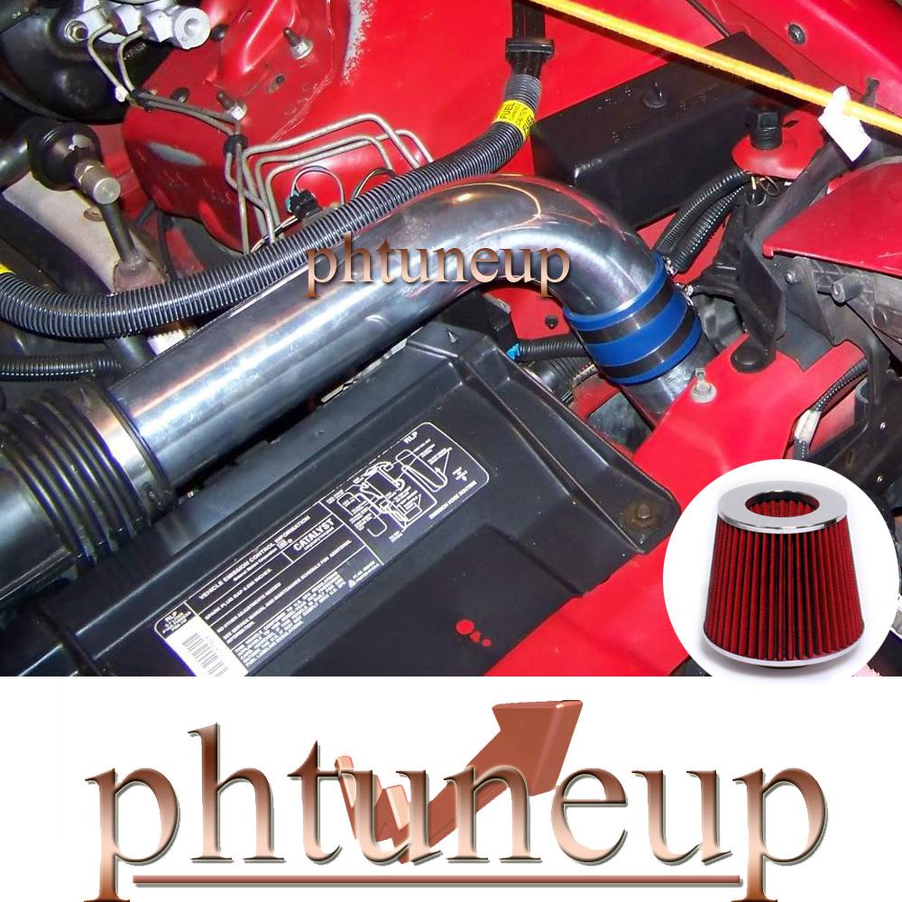 RED 1994 1995 1996 CHEVY CAMARO//PONTIAC FIREBIRD 3.4L V6 AIR INTAKE KIT