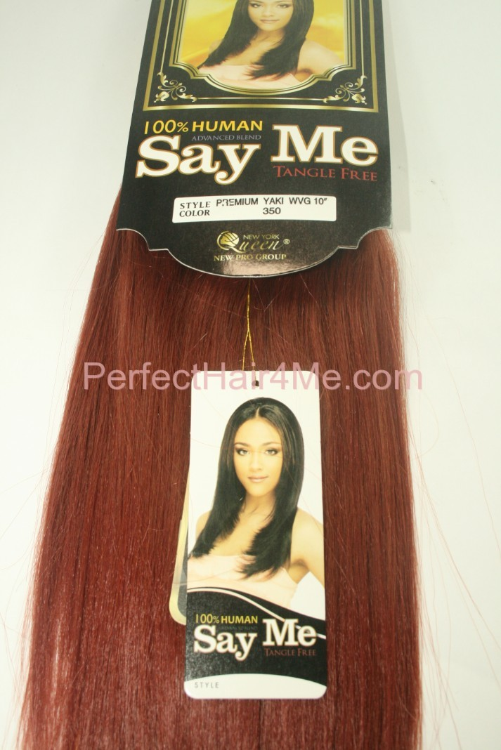 Say Me Advance Blend Hair Yaki Weaving Natural Touch With The Best