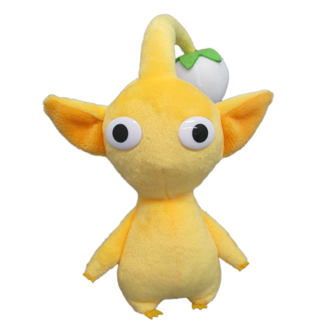 "Yellow Bud Stuffed Plush Doll 6/"" Pikmin Series Genuine Little Buddy Toy"
