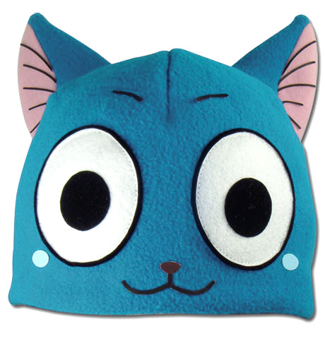 Real Happy The Exceed Fleece Cosplay Cap Ge 32197 Fairy Tail