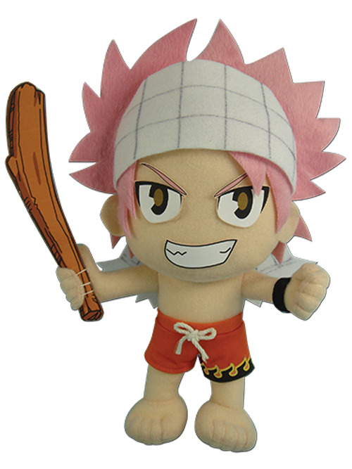 REAL Great Eastern GE-6969 Fairy Tail Anime Natsu Dragneel  Plush Doll