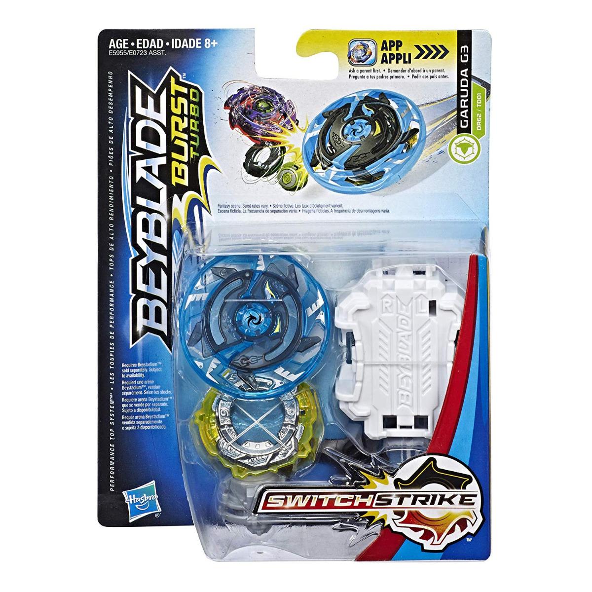 Details about REAL Hasbro Beyblade Burst Turbo SwitchStrike Starter Pack  Garuda G3 Defense