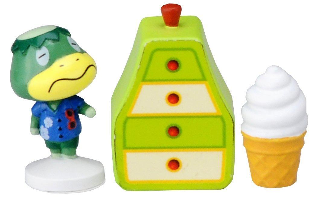 Takaratomy Animal Crossing New Leaf Kappn Stamp Figure and Furniture Set