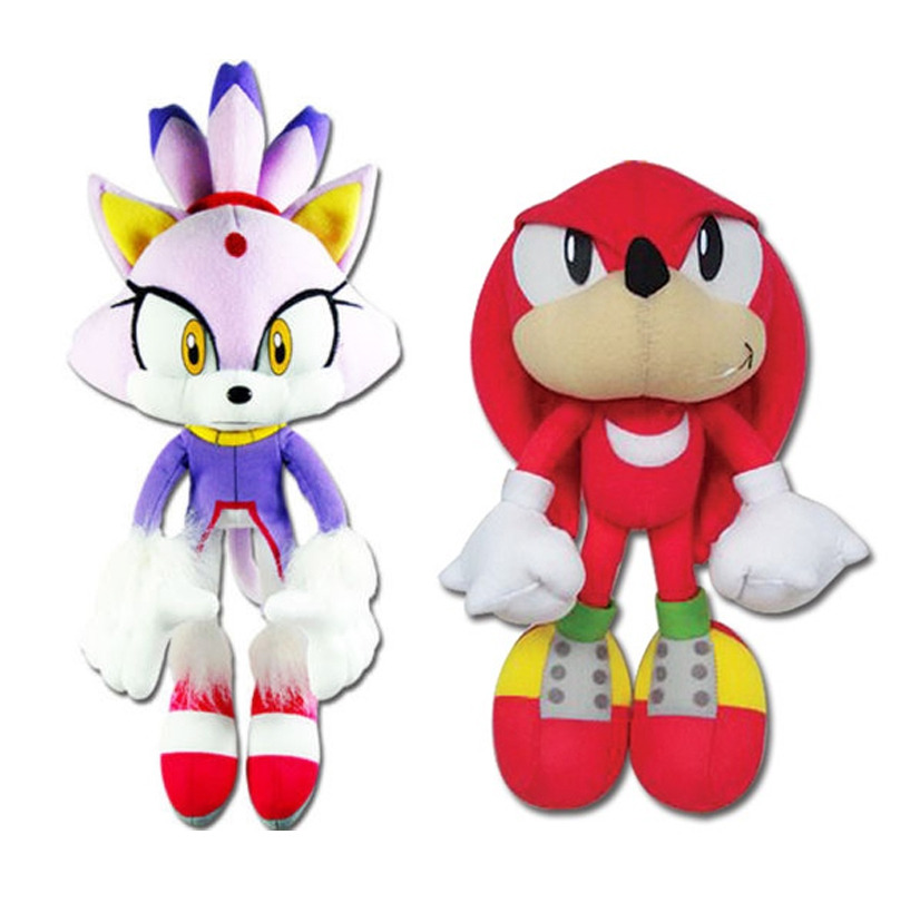 """GE-52636 Plush REAL NEW Sonic the Hedgehog 14/"""" Blaze the Cat Great Eastern"""