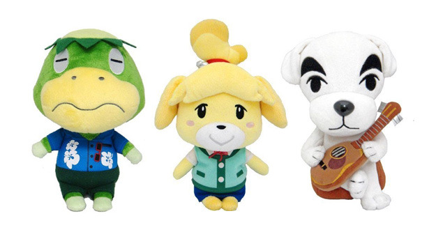 Real Set Of 3 Animal Crossing Stuffed Plush Doll Kappn Isabelle