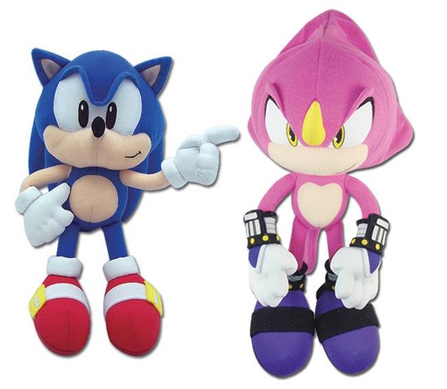 New Ge Sonic The Hedgehog Plush Toys Classic Sonic Espio Chameleon 2018 At 142 30 Animetee Com Sbra