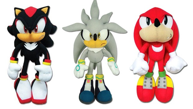 sonic the hedgehog knuckles shadow silver sonic great eastern