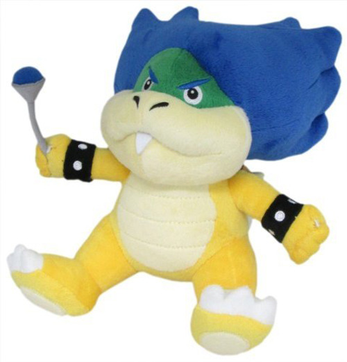 """REAL Little Buddy 1425 Super Mario All Star Collection  Plush 7/"""" Koopa Troopa"""