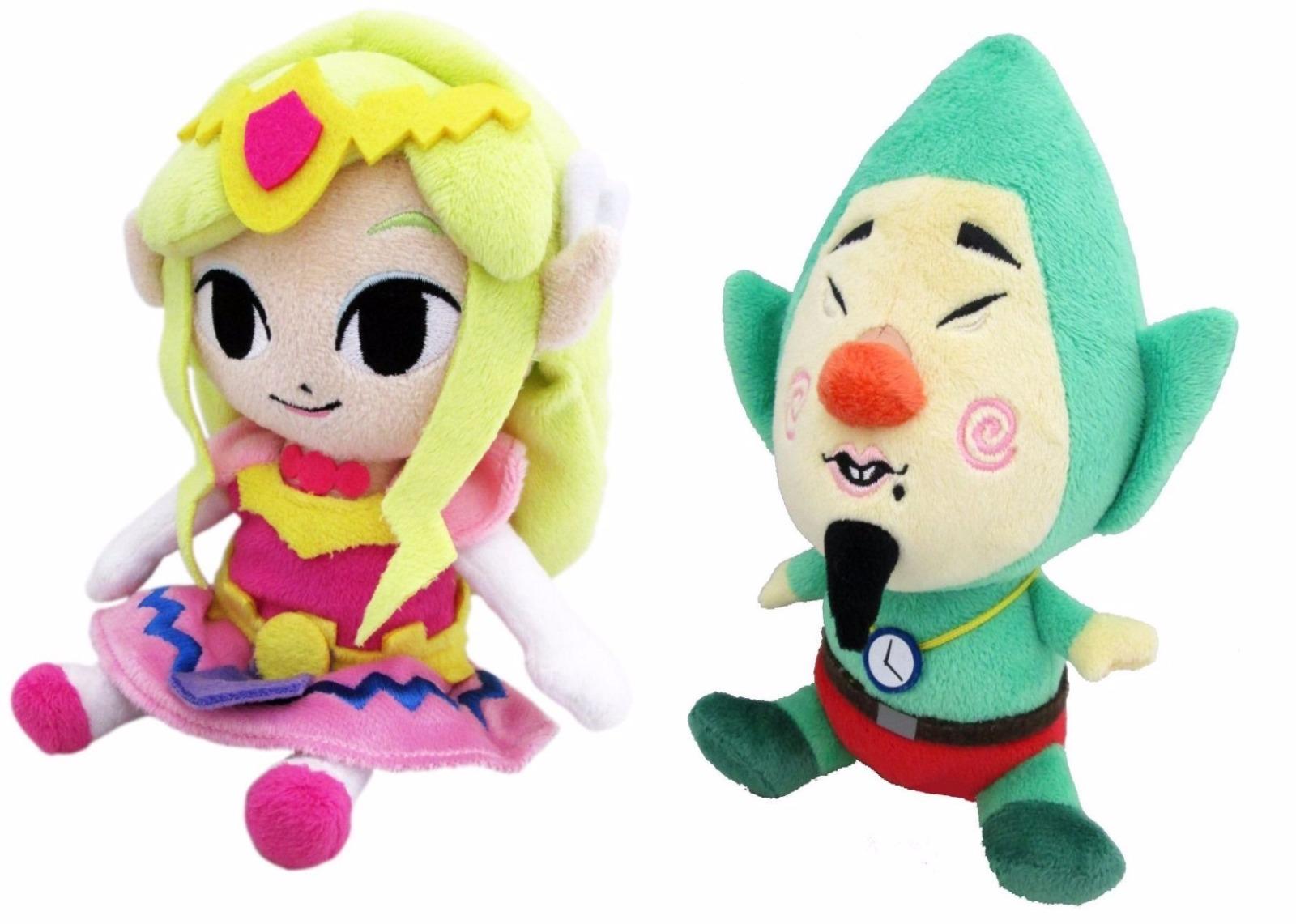 Sanei Legend Of Zelda Wind Waker 8 Princess Zelda 7 Tingle Plush