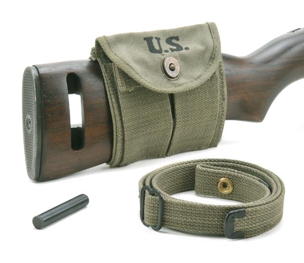Usgi Ww2 30 M1 Carbine Sling Oiler Buttstock Pouch Od Green
