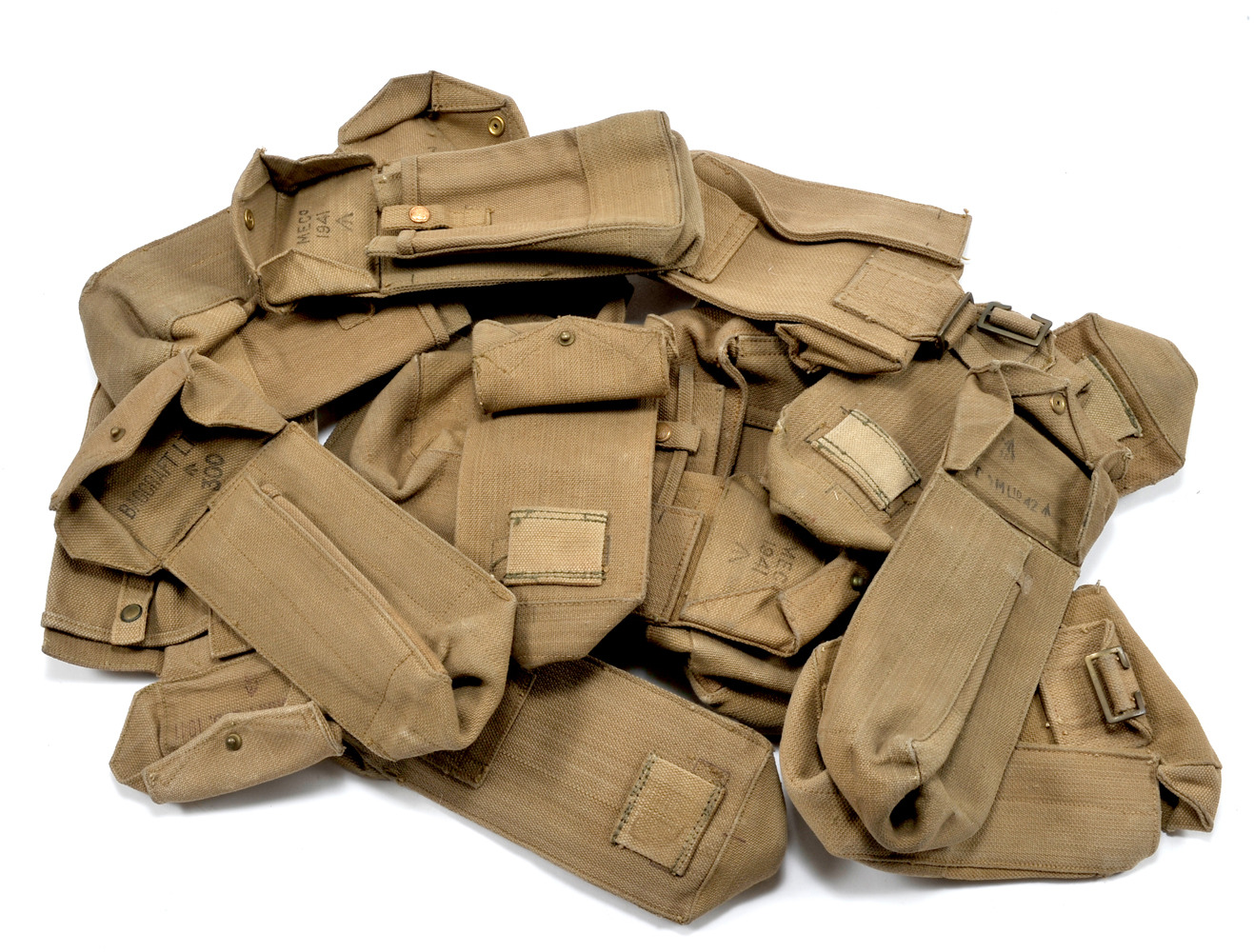 Details about Original British WW2 Ammunition Pouch Free shipping from USA
