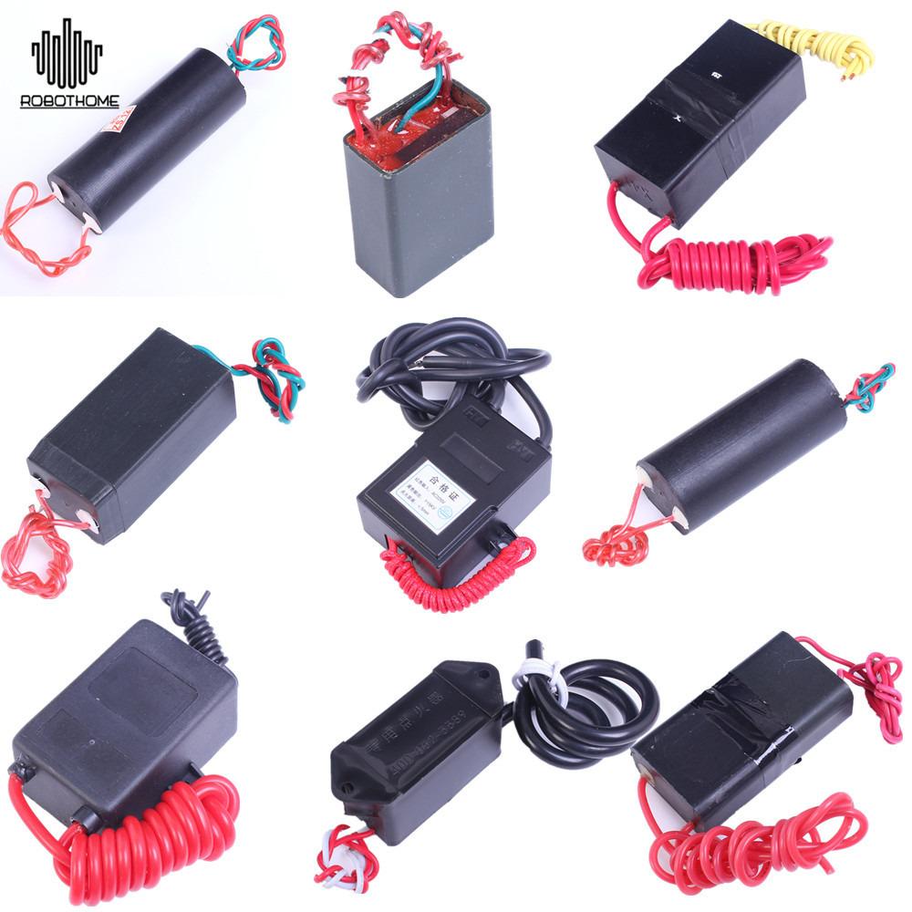 Super Arc 6-12V 0.5A-2A Inverter Pulse High-Voltage Generator Ignition Coil 80KV