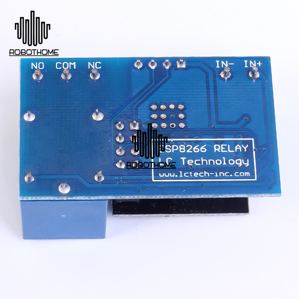 Esp8266 5v 12v Iot Wifi Relay Module Remote Control Switch Phone App Use A Or Smart With The 45 Watt Higher Halogen Lights Type 1 Home