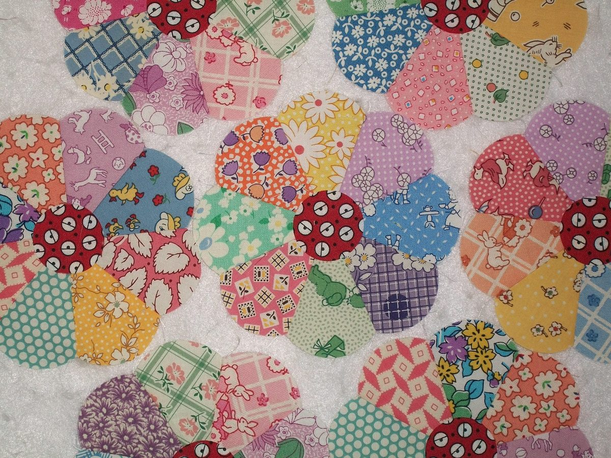 5 Quot Aunt Grace 30s Dresden Plate Quilt Block Applique Ebay