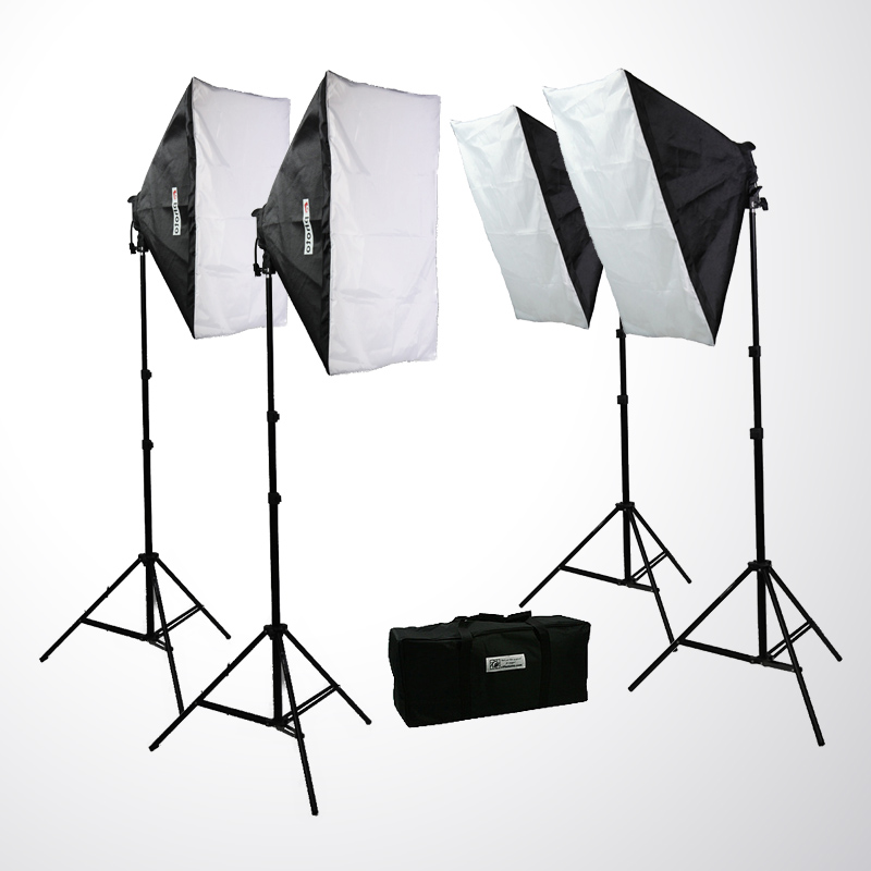 Image is loading 3200-WATT-VIDEO-PHOTO-STUDIO-4-SOFTBOX-LIGHTS-  sc 1 st  eBay & 3200 WATT VIDEO PHOTO STUDIO 4 SOFTBOX LIGHTS PHOTOGRAPHY LIGHTING ...