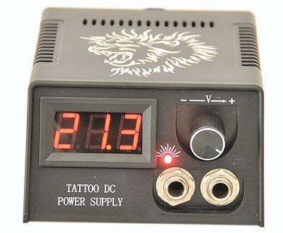 6 Gun Complete Tattoo Machine Kit Power Needdle Ink Tip Ebay