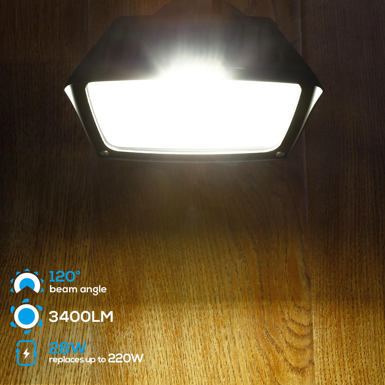 Photocell BP 2X Dusk to Dawn Outdoor Barn Light Floodlight Yard Security Light