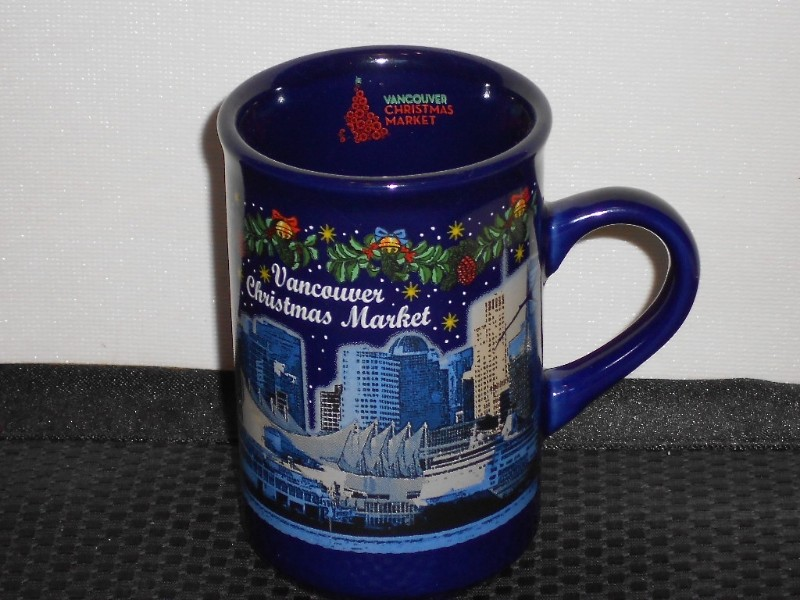 Vancouver Christmas Market Mug.Details About Germany Blue Vancouver Christmas Market Mug Cup