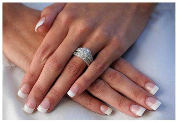 34CT PRINCESS CUT ENGAGEMENT WEDDING RING SET Diamond Simulated 925