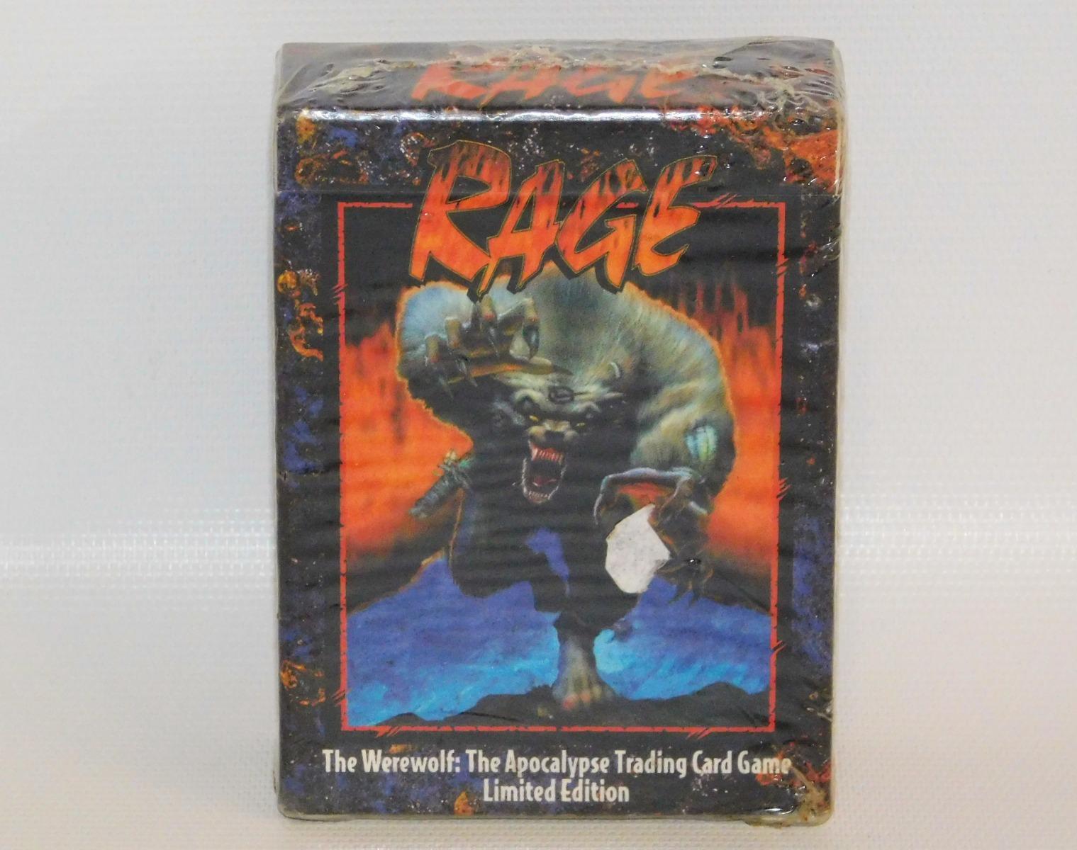 Rage the Werewolf Starter Set Deck NEW Apocalypse Trading Card Game ...