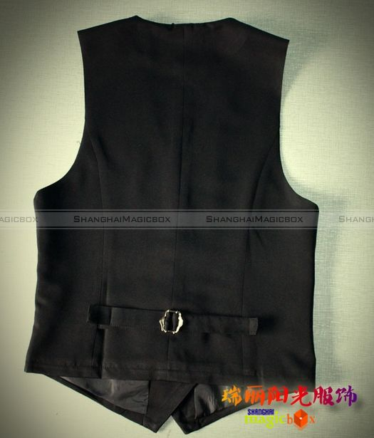 Men Fashion Simple Slim Fit Suit Vest Sleeveless Waistcoat Black New